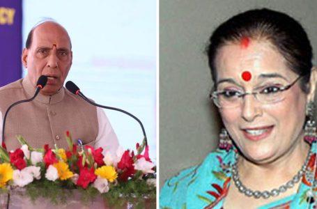 पूनम सिन्हा शत्रुघ्न सिन्हा की पत्नी लखनऊ से राजनाथ के खिलाफ लड़ सकती हैं चुनाव : सूत्र