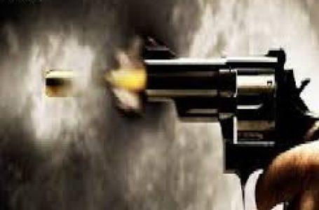 पत्नी की प्रताड़नाओ से तंग आकर युवक ने पत्नी के समाने खुद मे मारी गोली मौत