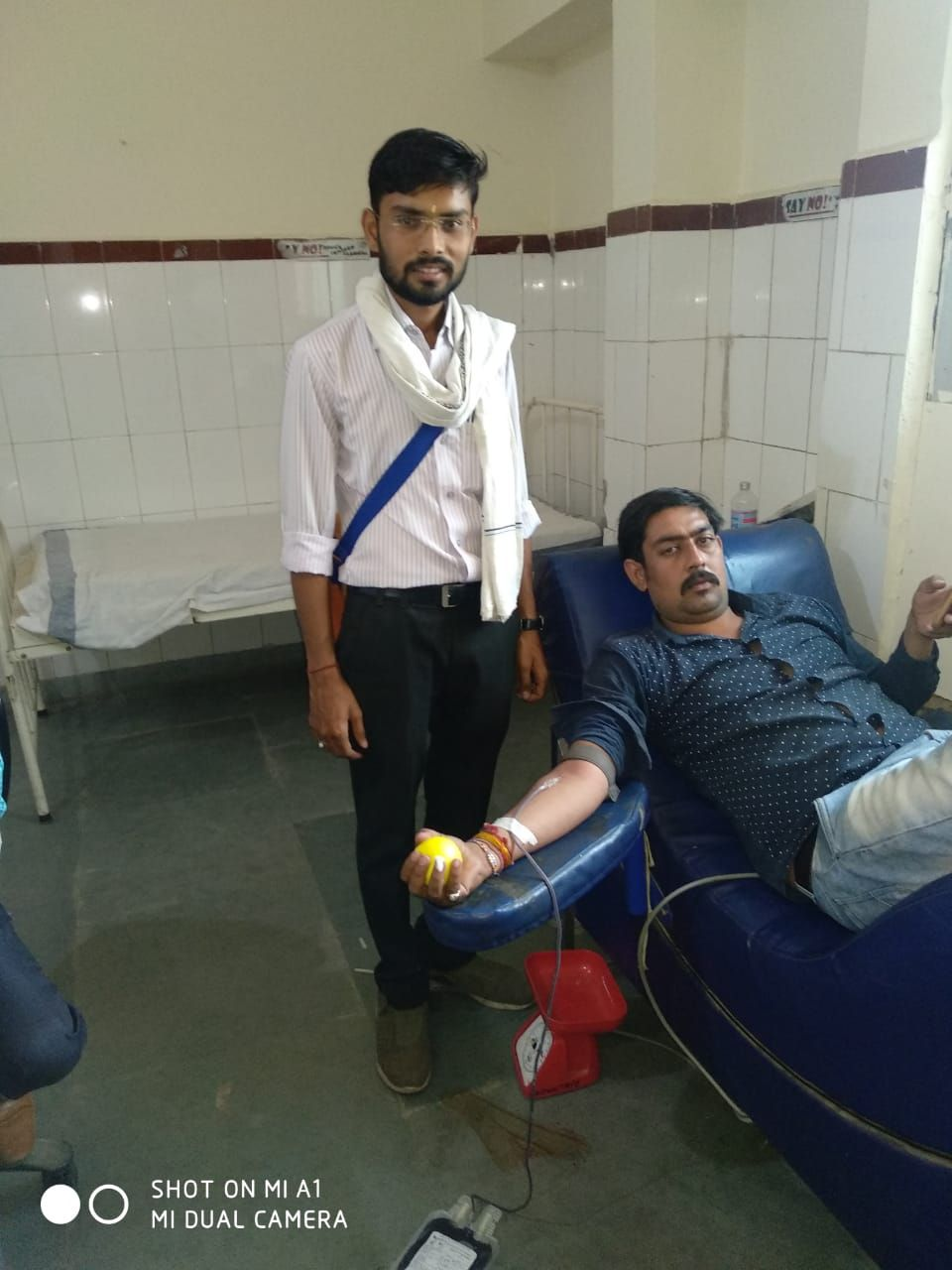 26 surviving blood donation at the age of 27 has saved 26 lives