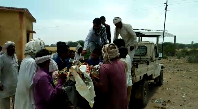 Death of a farmer killed in Tikamgarh, a series of painful deaths started with theresur harvesting