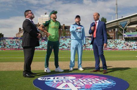 ICC WORLD CUP : दक्षिण अफ्रीका को इंग्लैंड ने जीत के लिए दिया 312 का टार्गेट