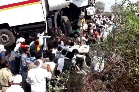 Burhanpur News : महाराष्ट्र के मलकापुर सड़क हादसे में एमपी बुरहानपुर के 6 मजदूर सहित 13 की मौत
