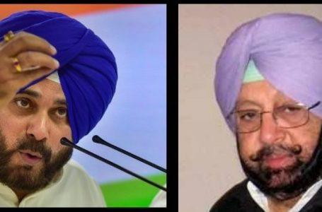 कैप्टन अमिरंदर सिंह का आरोप, नवजोत सिंह सिद्धू मुझे रिप्लेस कर मुख्यमंत्री बनना चाहते हैं