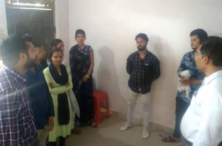 अंदर का नजारा देखकर दंग रह गए श्योपुर के कम्प्युटर प्रशिक्षण सेंटर पर छापा मारने पहुंचे अफसर