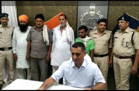 SHEOPUR NEWS : खरीदार बनकर पुलिस ने जाल में फंसाए नकली नोटों के सौदागर, 8 दबोचे