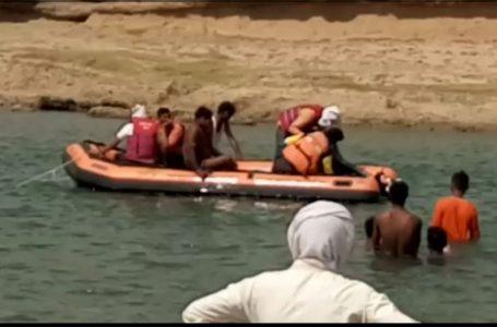 MP- पति की आखों के समाने नदी में बह गई पत्नि सहित दो बच्चे, गाव मे मचा हड़कंप