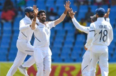 भारतीय टीम ने 318 रनों से पहला टेस्ट मैच जीता