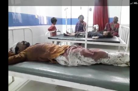 खरगौन में सोते हुए में परिवार के 5 सदस्यों पर तलबार से हमला