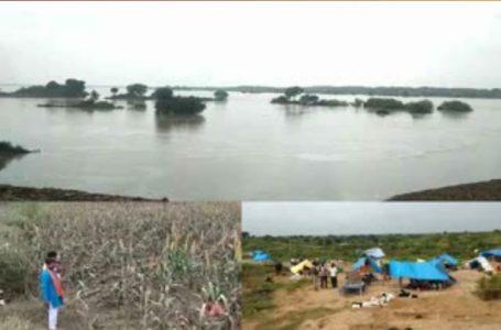चंबल नदी ने जनजीवन को किया अस्त क्यस्त- कोतवाल डैम गेट खोले पिलुआ डैम गेट खोलने की तैयारी