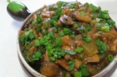 recipe: चिली गार्लिक मशरूम