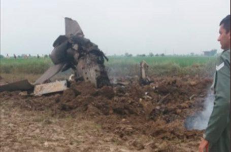 भिंड – वायुसेना का प्रशिक्षण विमान  मिग-21  विमान क्रैश, दोनों पायलट सुरक्षित