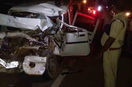 ट्रक और जीप की टक्कर 5 की मौत, एक गंभीर, रीवा जिले के शाहपुर थाने के देवरा गांव में हुई घटना, पुलिस पहुंची