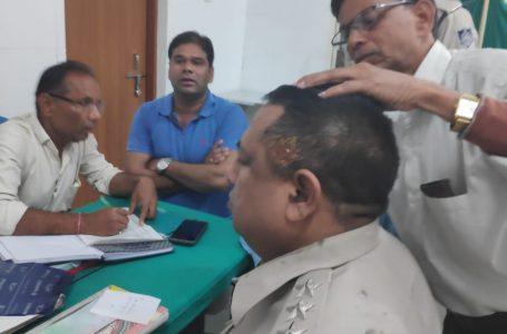 सारंगपुर में पुलिस पर हमला…पडाना में दो पक्षों का विवाद सुलझाने गई पुलिस टीम पर हमला, एसडीओपी घायल