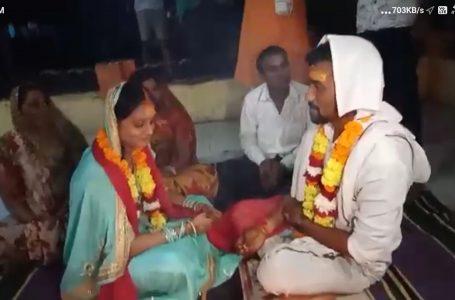खरगोन में अनोखी शादी…पुलिस जवान बने खराती-बराती, थाने में कराया प्रेमी युगल का विवाह