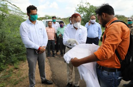 SHEOPUR NEWS : चंबल प्रोग्रेस-वे को लेकर कमिश्नर ने किसानों से की सीधी बात, दी समझाइश