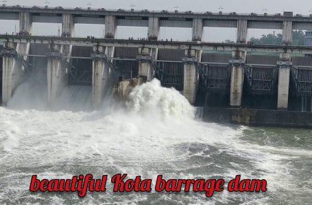 SHEOPUR-NEWS :  कोटा बैराज से चंबल नदी में छोड़ा पानी