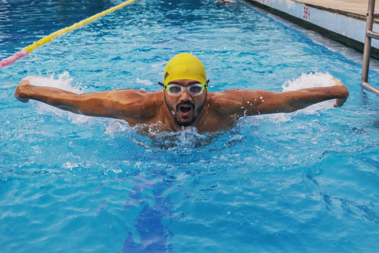 For the first time in the country, a handicapped player will get the National Award for Para-swimmer
