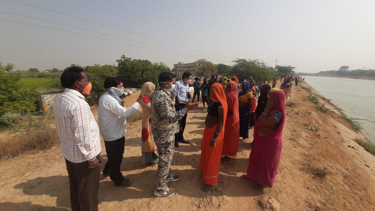 श्योपुर में कोरोना रोगी के अंतिम संस्कार को गई टीम को रोकने पहुंची महिलाओं ने किया हंगामा