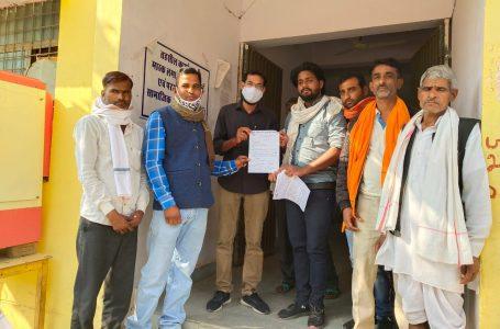 श्योपुर-किसान स्वराज संगठन ने दिया ज्ञापन:ज्वार की फसल न्यूनतम समर्थन मूल्य पर खरीदने को लेकर;