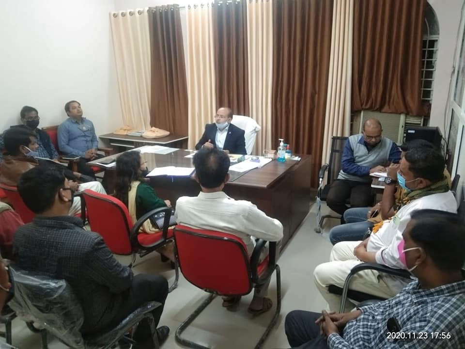 SDM took hotel, marriage garden operators meeting, adhered to Kovid-19 guidelines